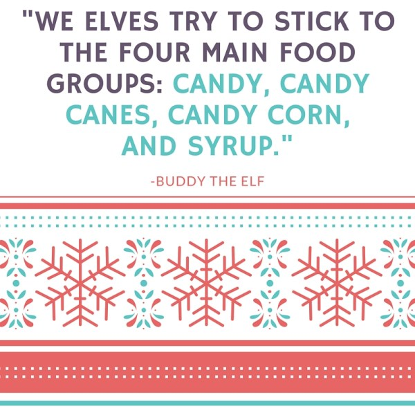 Buddy the Elf Quote - Favorite Holiday Movies from Megan and Wendy