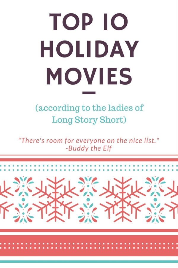 Top Ten Holiday Movies According to Megan and Wendy