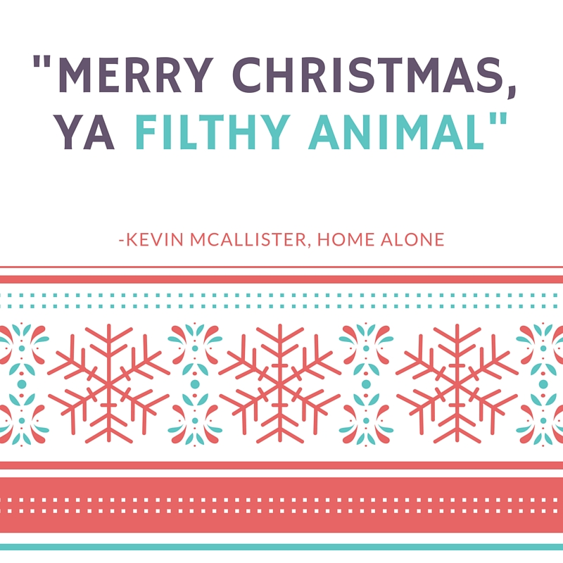 Home Alone Quote - Megan and Wendy Top Ten Holiday Movies