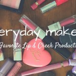 Everyday Makeup Collection – Lip & Cheek Products