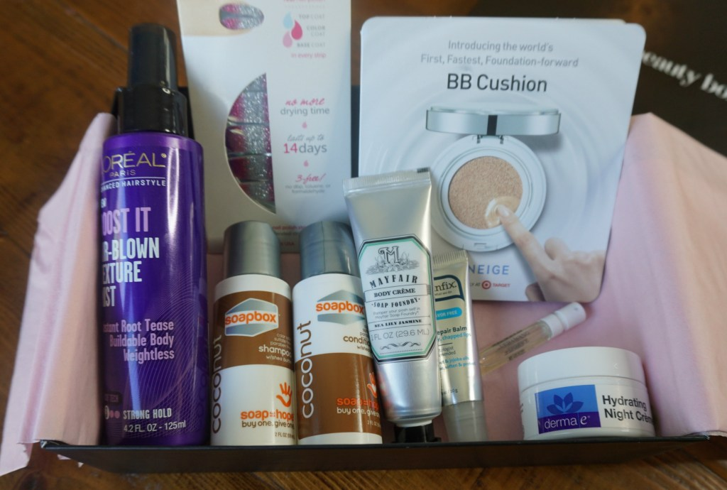 February 2016 Target Beauty Box