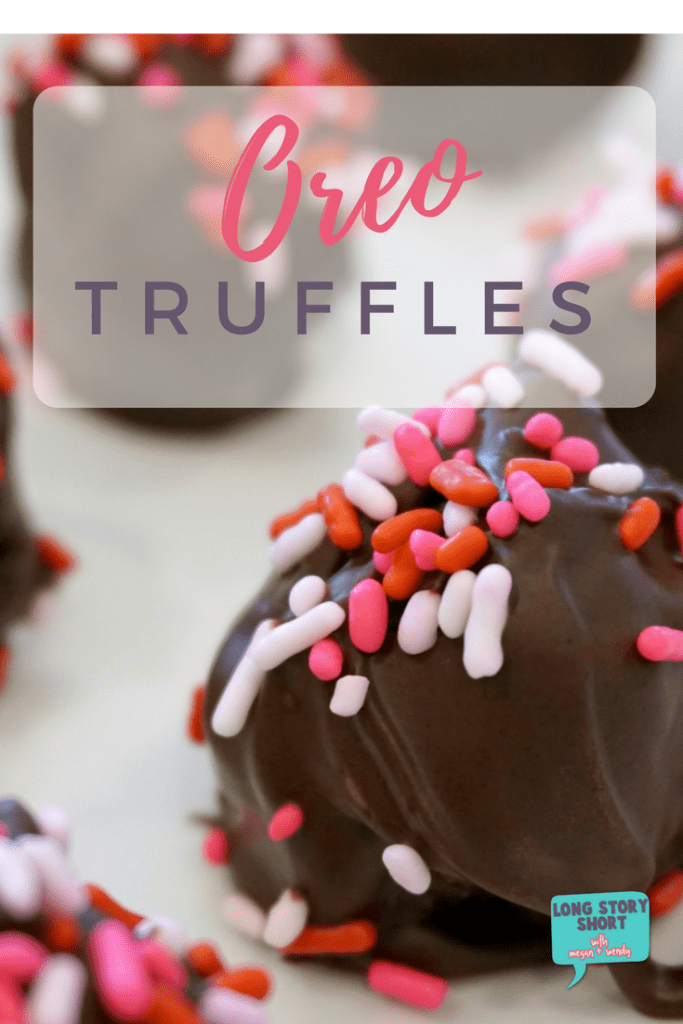 Oreo Truffles - the perfect easy and delicious Valentine's Day Treat!