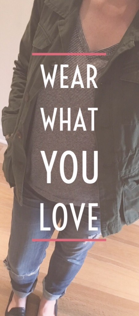 Wear What You Love - An Ode to the Old Navy Boyfriend Tee