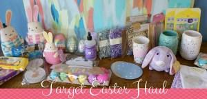 Target Easter Haul