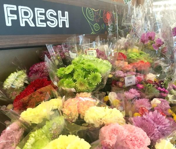 Fresh Flowers at ALDI