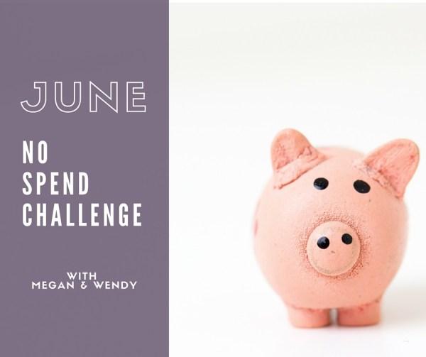 June No Spend Challenge