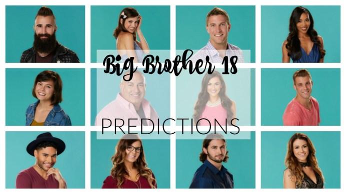 BB18 Predictions