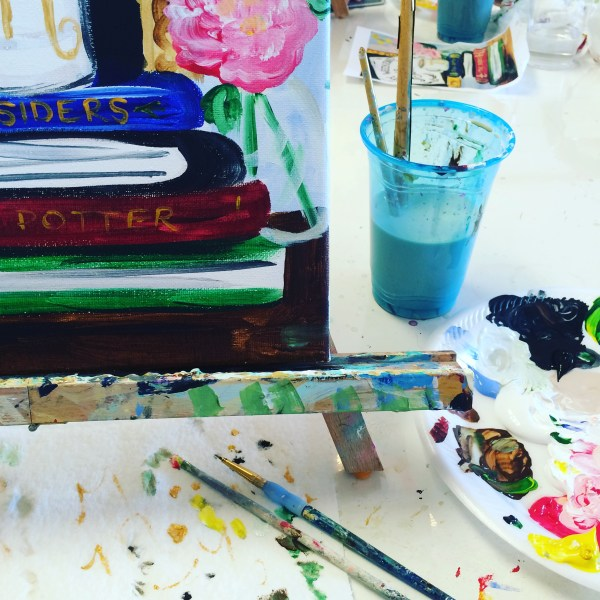Painting with Timree - Orange County Paint Studio