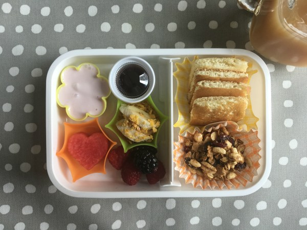 How to make a breakfast bento box