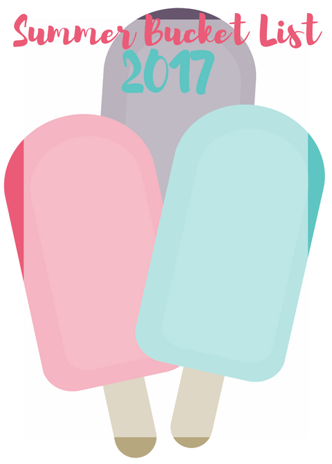 Summer Bucket List Printable 2017