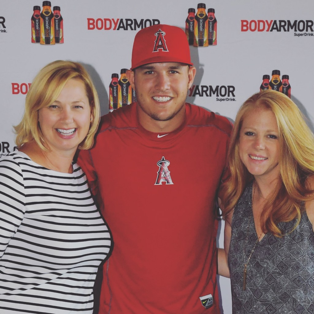 Megan and Wendy and Mike Trout