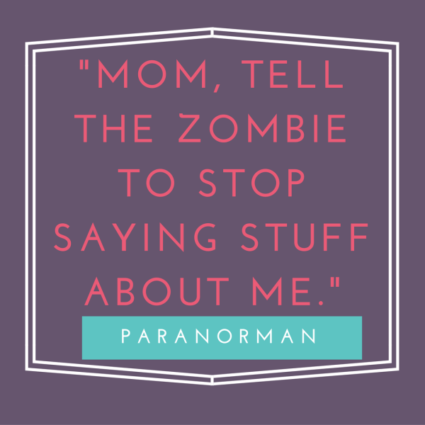 Fun movie quotes from kid's Halloween movies.