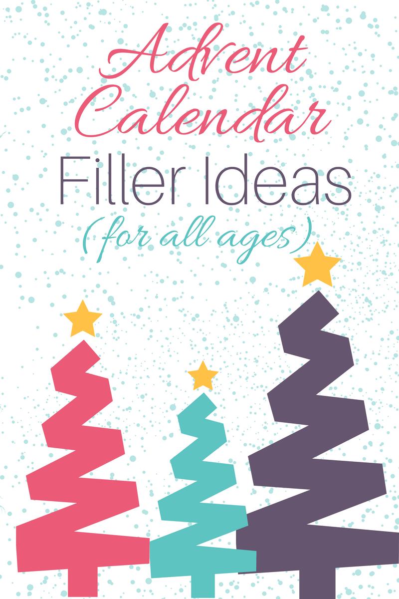 Advent Calendar Fillers - Long Story Short