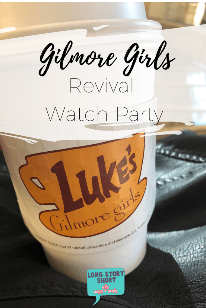 How to Have a Gilmore Girls Watch Party! We have the decorations, food, and games you'll need to watch Gilmore Girls: A Year in the Life. #GilmoreGirls