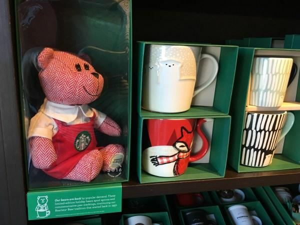 Starbucks Bearista Bears 2016