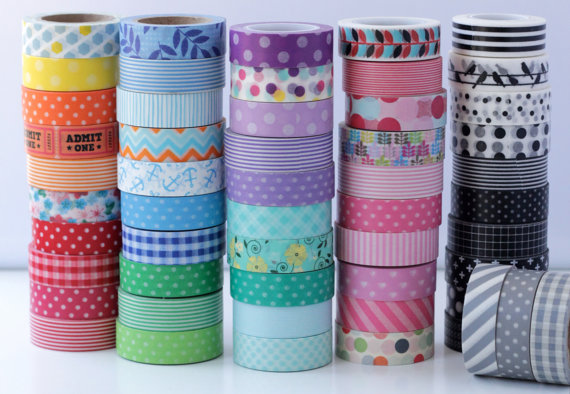 Washi Tape - Gift Guide for Stationary Lovers