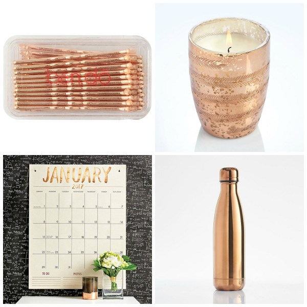 Favorite Rose Gold Gifts from Paper Source