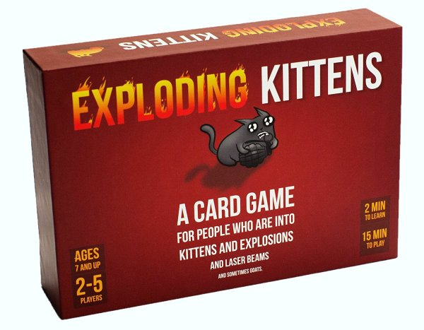 Where to get Exploding Kittens board game?