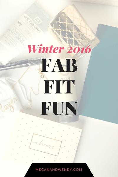 FabFitFun Winter 2016 Box