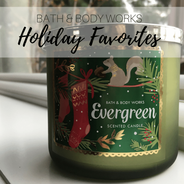Bath Body Works Holiday Favorite Candles