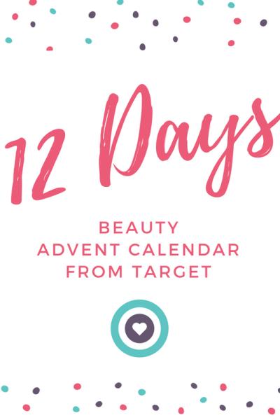 12 Days of Beauty Calendar Target