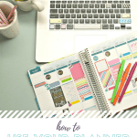 Using Your Planner to Help Keep Resolutions