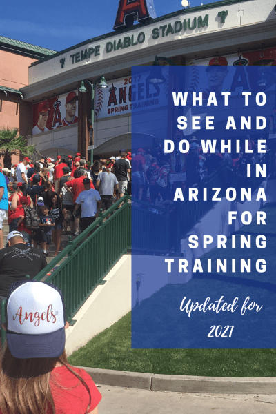Baseball is back! Spring training in Arizona begins in February and games are played through March 30, 2021. Fans will be allowed in baseball stadiums but at a reduced number. You can read what else fans should know before they catch their favorite Cactus League team. #springtraining2021
