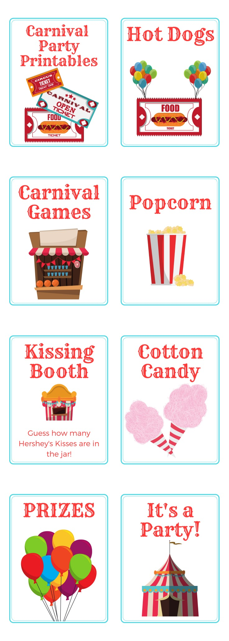 It is an image of Invaluable Free Carnival Printable
