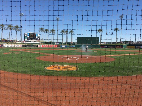 Goodyear Ballpark | Cleveland Indians, Cincinnati Red pre-season baseball, Spring Training