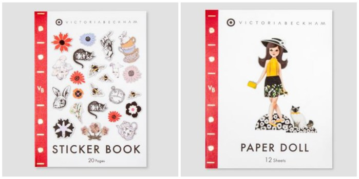 VB x Target Sticker Book and Paper Doll