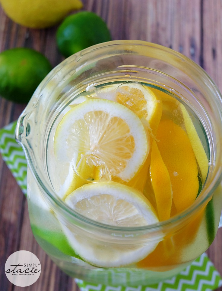 Citrus Bliss Infused Water from Simply Stacie