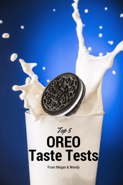VIDEO: Megan and Wendy share their top five favorite Oreo cookie taste test videos. A fun look back at the cookies they never wanted to taste again and the ones that should be regular flavors!