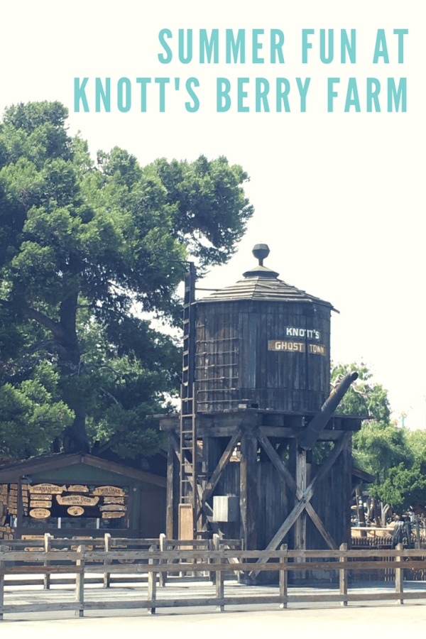 Summer Fun at Knott's Berry Farm | Ghost Town Alive review