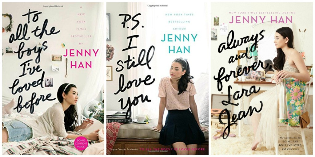 To all the boys I've loved before trilogy from Jenny Han - May Book Roundup from Megan & Wendy