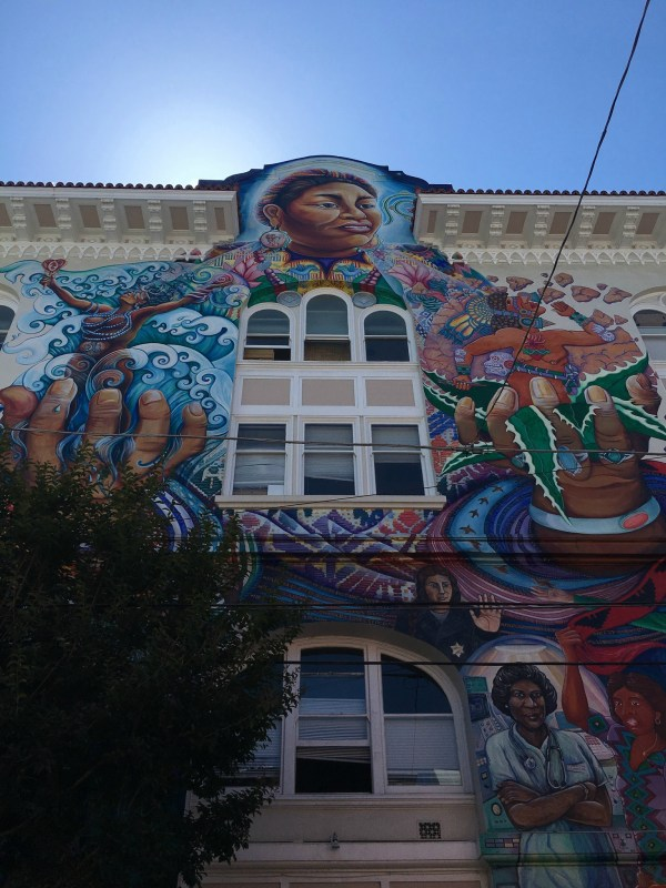 San Francisco Food Tour | SF Women's Building famous mural
