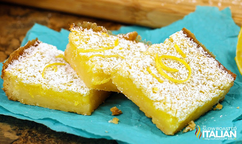 Easy Lemon Bars - Simple Summer Desserts - 5 Things to make this summer to satisfy your sweet tooth but not spend hours in the kitchen!