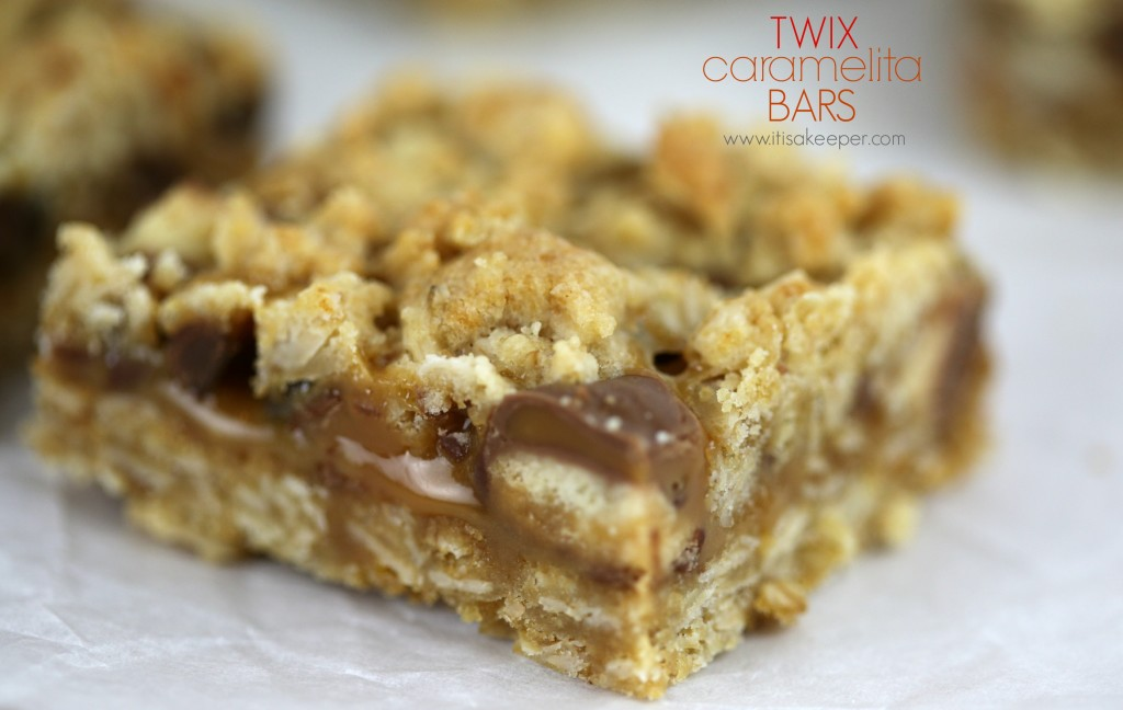 Twix Caramelita Bars - Simple Summer Desserts - 5 Things to make this summer to satisfy your sweet tooth but not spend hours in the kitchen!