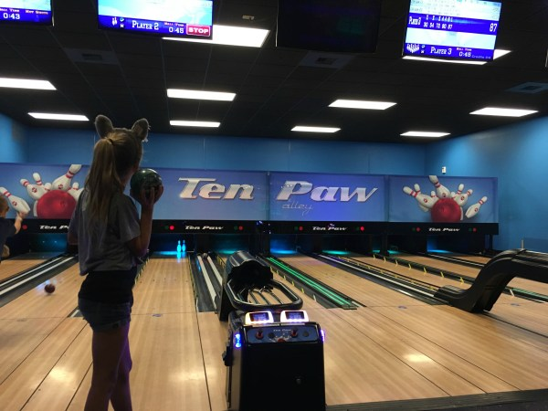 Bowling Alley at Great Wolf Lodge