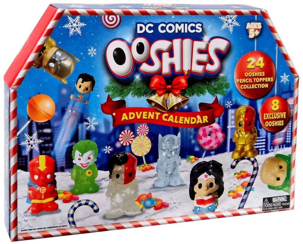 DC Comics Ooshies Advent Calendar