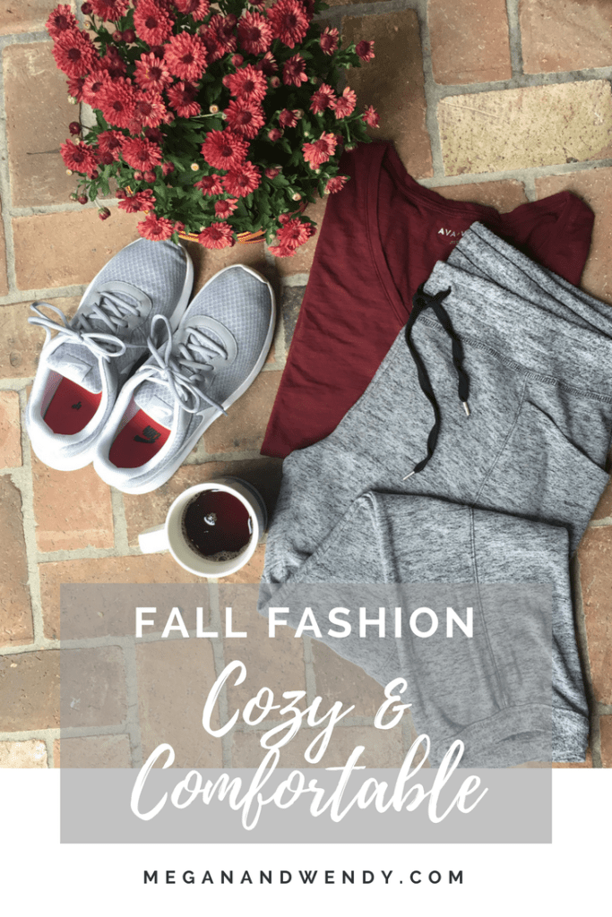 Comfortable Fall Fashion - We are all about comfort when it comes to cozy clothes and these joggers are the perfect piece!