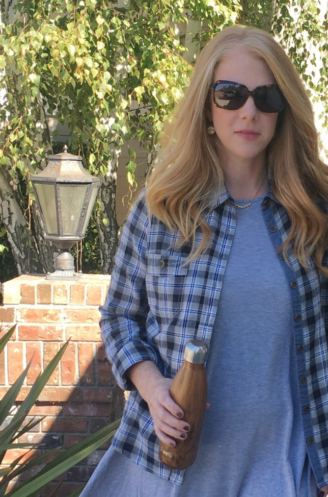 Warm Weather Fall Layers - We're sharing one of our favorite outfits lately for layering, even when the weather still feels like summer.