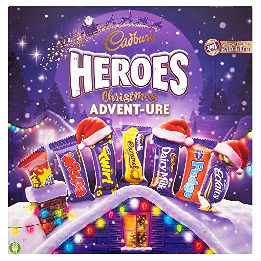 Cadbury Heroes Advent Calendar
