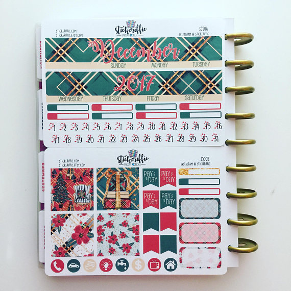 Stickeriffic December Monthly