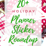Holiday Planner Sticker Roundup