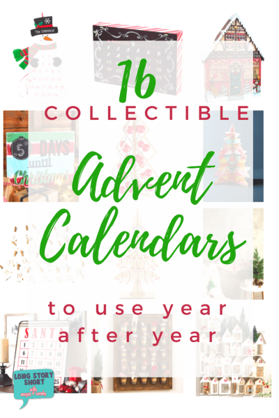 The best collectible advent calendars - Look no further for the best collection of advent calendars to create holiday traditions and memories! Fill each square or mark of the days in a way that will bring joy to your entire family.
