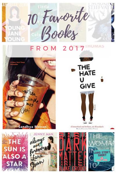 My Ten Favorite Books of 2017