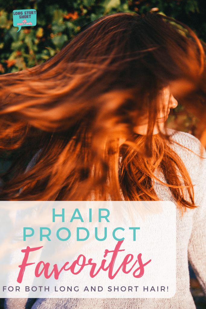 Hair Product Favorites - The best hair products for both long and short hair at both drugstore and salon prices!