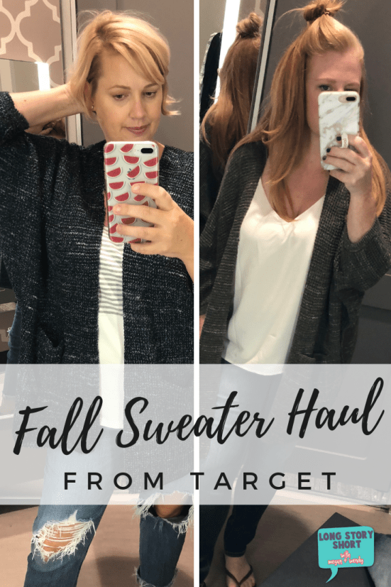 Updated for 2019! Target is bringing the fall fashion and we're here for it. See our favorite fall sweaters from Target and what we brought home with us. | #TargetStyle
