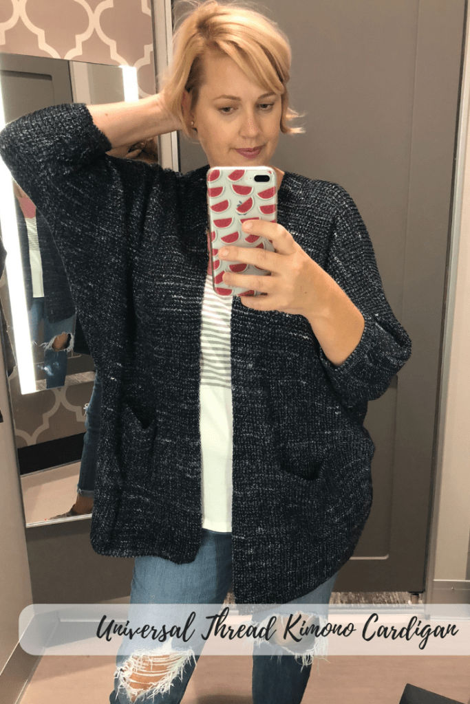 Universal Thread has several cardigan sweaters! Lengths vary from short, mid and long and all can be dressed up or down for the fall season.