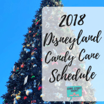 Disneyland Candy Canes 2018